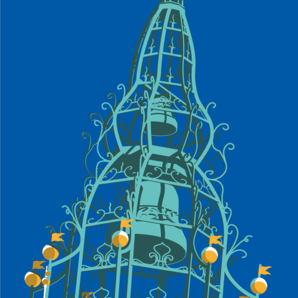 Gros plan de l'illustration Perpignan Saint-Jean